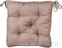 Подушка на стул 40x40 см какао La Nuit