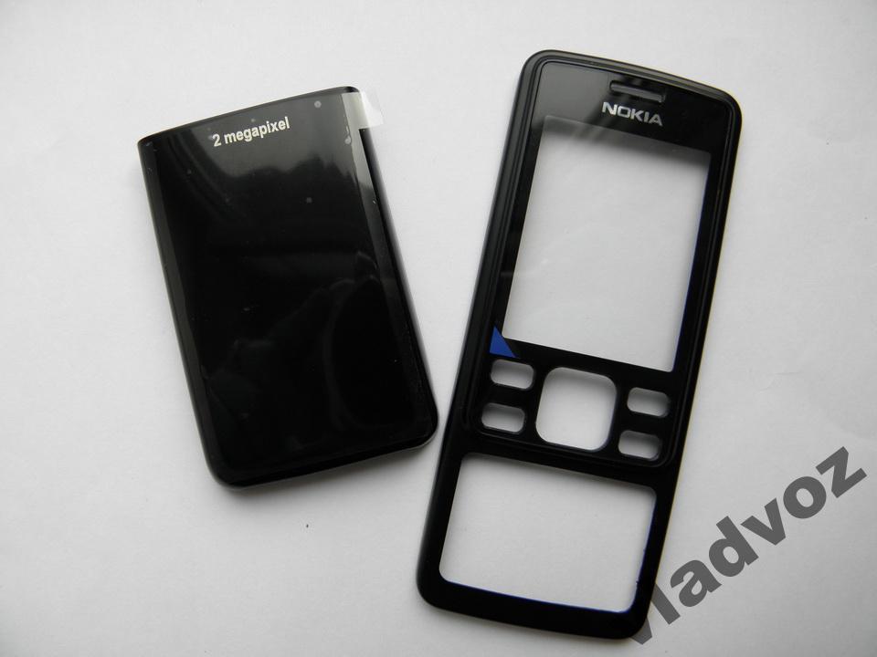 Корпус Nokia 6300 чёрный не дорогой