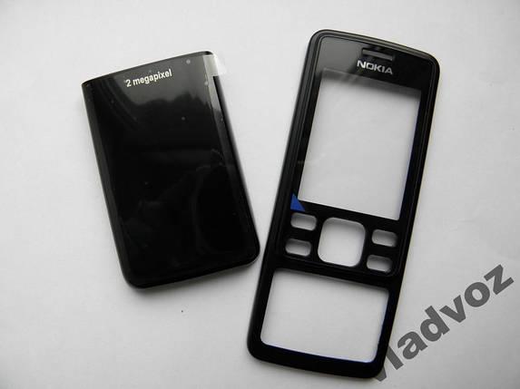 Корпус Nokia 6300 чёрный не дорогой, фото 2