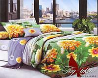 Комплект постельного белья XHY1835 двуспальный (TAG polycotton 2-sp-453)