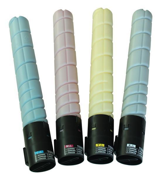 Konica Minolta bizhub C220/280 TN-216 C Тонер Cyan (голубой) на 26 000 копий, 5% заполнения*