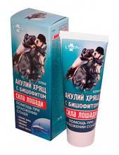 Крем Сила Лошади «Акулий хрящ с бишофитом» (помощь при отложении солей), 75 мл