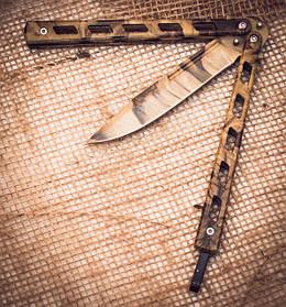 Нож бабочка, балисонг