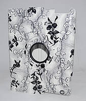 Чехол для iPad 3/iPad 4 grey flowers gloss only one