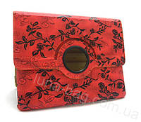 Чехол для iPad 3/iPad 4 Red flowers gloss only one