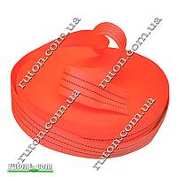 Лента буксировочная 3 т - 50 мм х 50 м для строп, стропная (полиэстер)