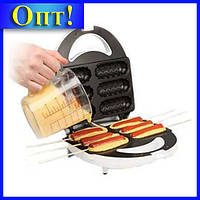 Тостер DOMOTEC MS-0880 для хот-догов!Опт