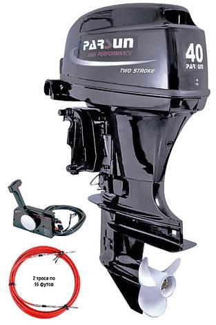 Лодочный мотор Parsun (Парсун) T40FWS, фото 2