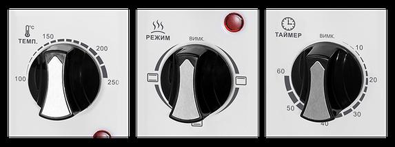 Электрическая духовка LIBERTON LEO-350 W, фото 2