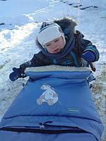 Многофункциональный детский конверт на флисе  № 20 excluzive  WOMAR