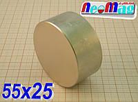Польский магнит неодимовый 55х25, N42,115 кг ░Сертификат░подбор ░обмен░гарантия░