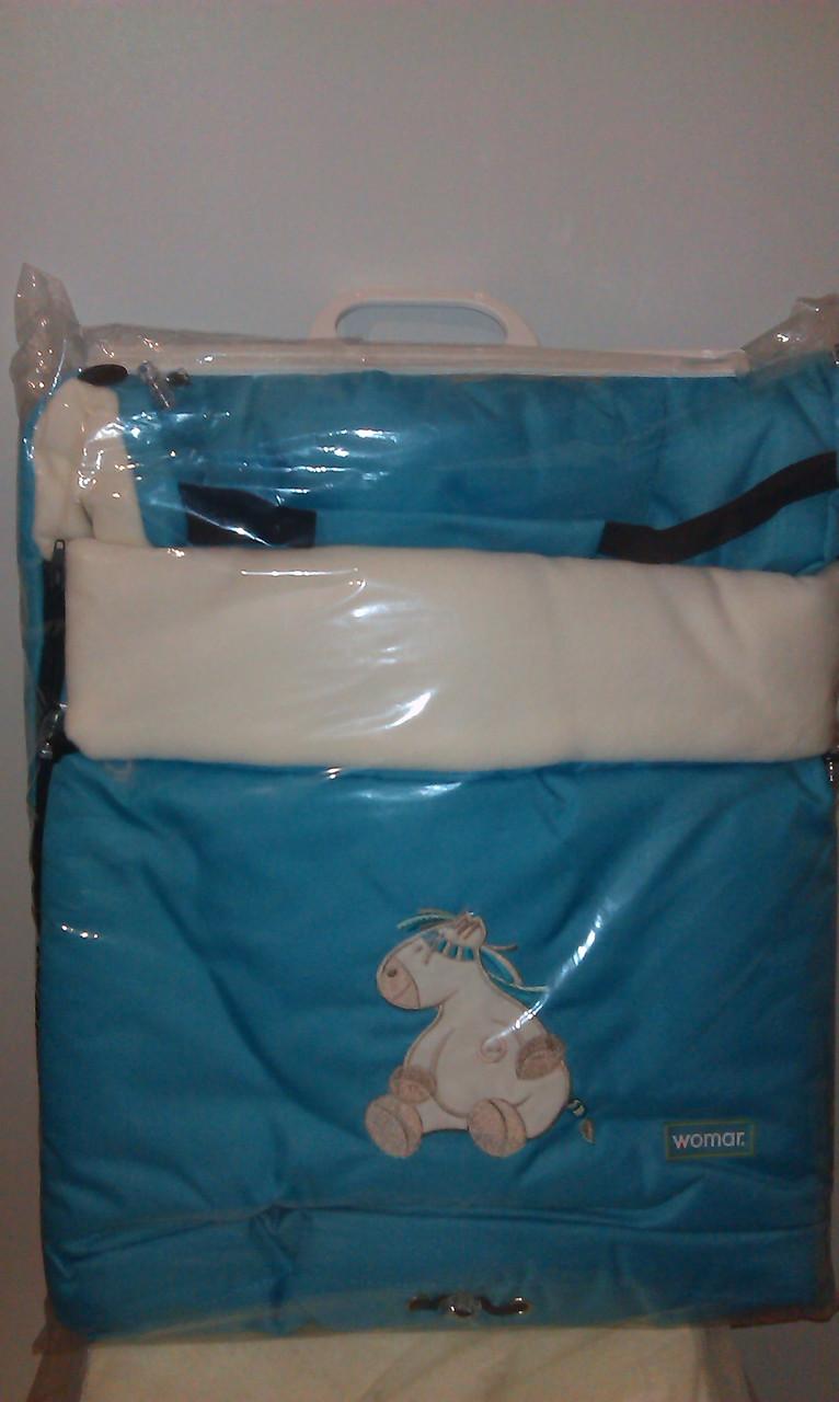 Многофункциональный детский конверт на флисе  № 20 excluzive  WOMAR - «KINDER — BABY «Детские товары, товары для новорожденных и товары для мам и для дома в Киеве