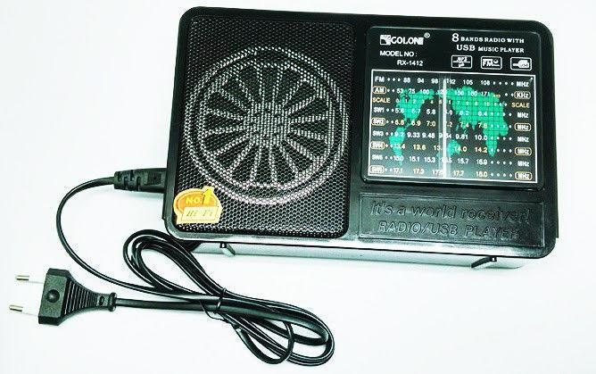 Портативный Радиоприёмник GOLON RX-1412