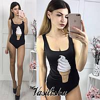 Красивый  боди мороженое  ВБ-02.15