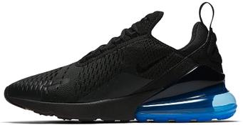 Мужские кроссовки Nike Air Max 270 Black/Blue (люкс копия)