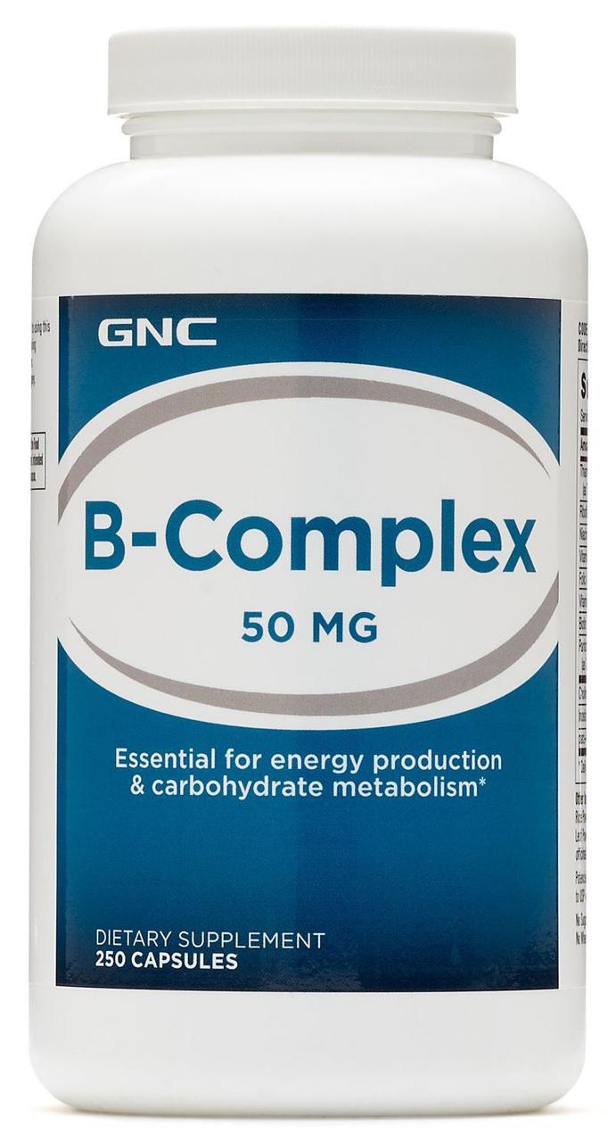 GNC B-Complex 50 mg 250 caps