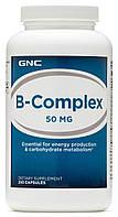 GNC B-Complex 50 mg 250 caps, фото 1