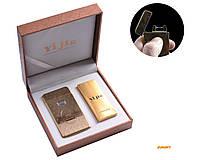 """USB зажигалка в подарочной упаковке """"Maserati"""" (Электроимпульсная) №4772-2"""