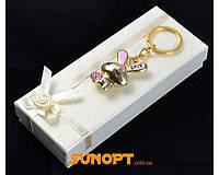 """Брелок в подарочной коробке """"Кролик"""" №6960-972-2"""