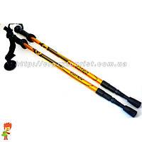 Палка трекинговая Viator Black 135 см с корковой ручкой 1 штука, фото 1