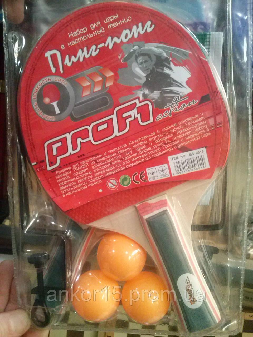 Набор для настольного тенниса, пин понг