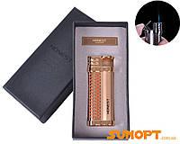 Зажигалка подарочная Honest (Острое пламя) №2815 Gold