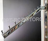Кронштейн (Флейта) овальная в рейку с изгибом