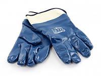 Перчатка синяя маслостойкая А-50