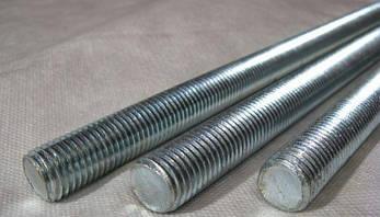 Шпилька резьбовая М24 DIN 975 класс прочности 8.8, фото 2