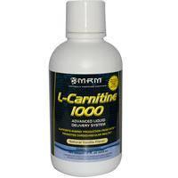 L- Карнитин 1000, MRM, Натуральный ванильный вкус, 503 мл