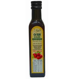 Масло плодов шиповника 100% ,250 мл,стекло темного цвета, пробка метал. с дозатором ЖБиопродукт