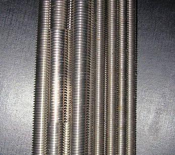 Шпилька резьбовая М27 DIN 975 класс прочности 8.8, фото 2