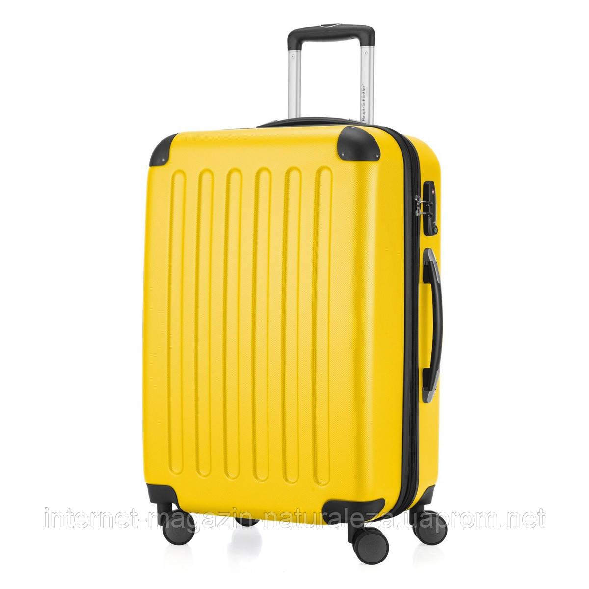 Дорожній чемодан Hauptstadtkoffer Spree Midi жовтий