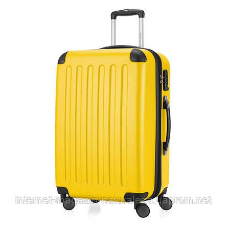 Дорожній чемодан Hauptstadtkoffer Spree Midi жовтий, фото 2