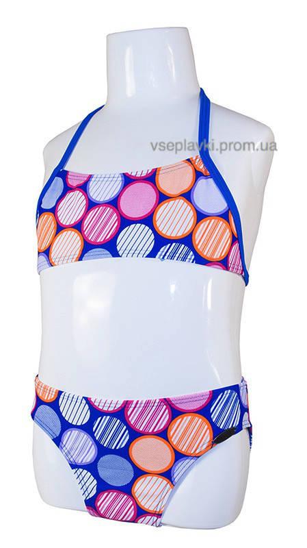 Детский раздельный купальник для девочек Diezi DZ-55-1
