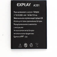 Аккумулятор ААА EXPLAY SOLO / A351 2000mah. Original