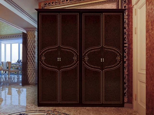 Шафа (шкаф) з ДСП/МДФ в спальню/вітальню/дитячу Мартіна 4Д без дзеркал Миро-Марк