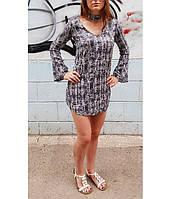 Платье женское Длинный рукав  WET SEAL Летнее