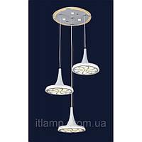 Светодиодный подвес на 3 плафона 7631123-3_LED