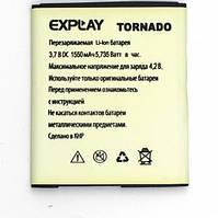 Аккумулятор ААА EXPLAY TORNADO 1550mah. Original