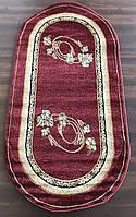 Красные овальные ковры, фото 1