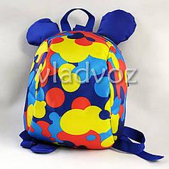 Детский рюкзак для дошкольника Мики синий