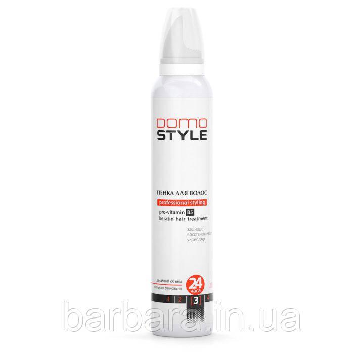 Пена для волос сильной фиксации Domo Style Leco