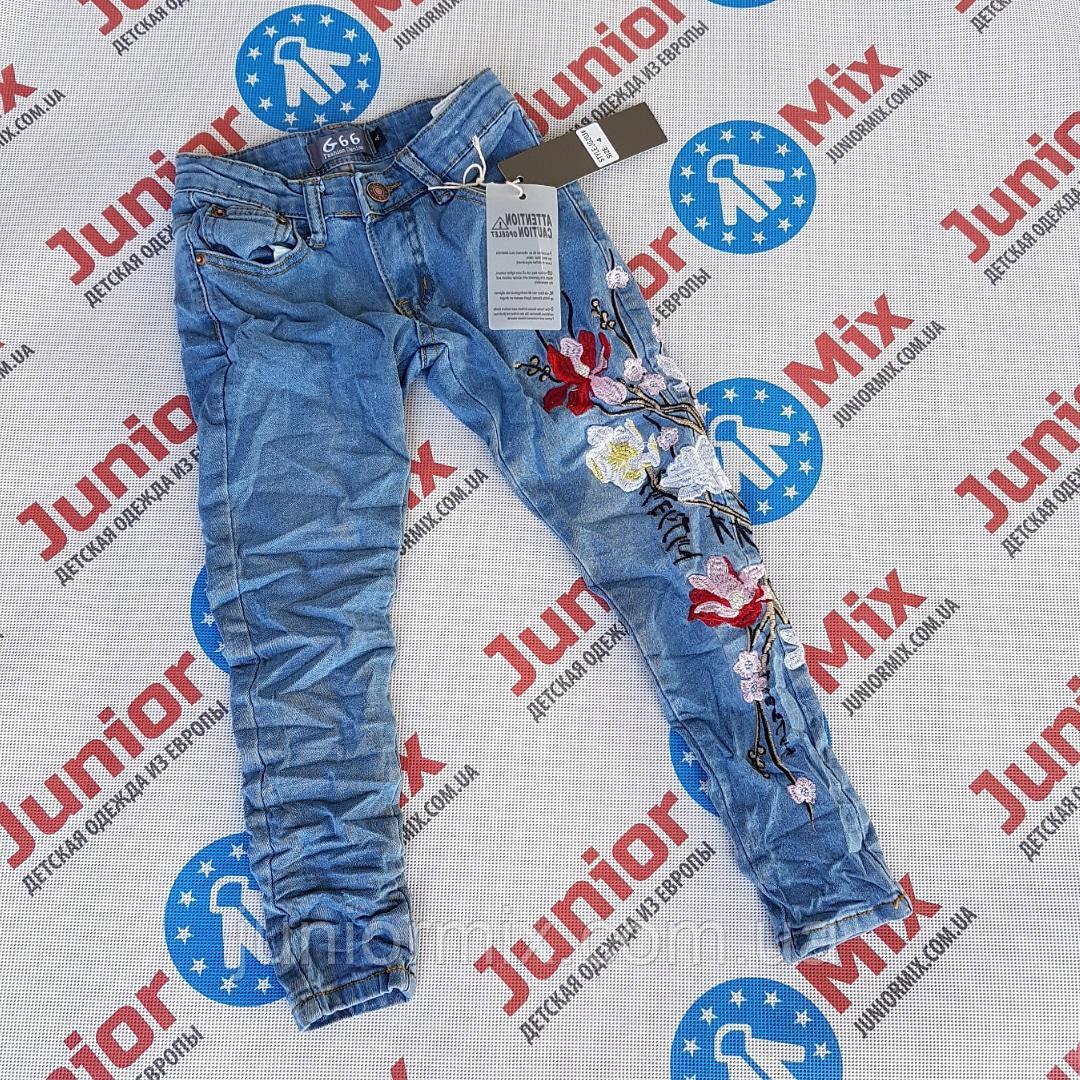 8e9e732d7dd Купить Модные подростковые джинсы для девочек с вышитыми цветами ...