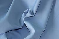 Ткань креп костюмка барби нежно голубая, фото 1