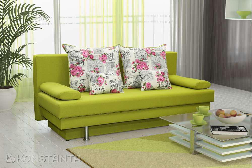 Прямой диван Вика