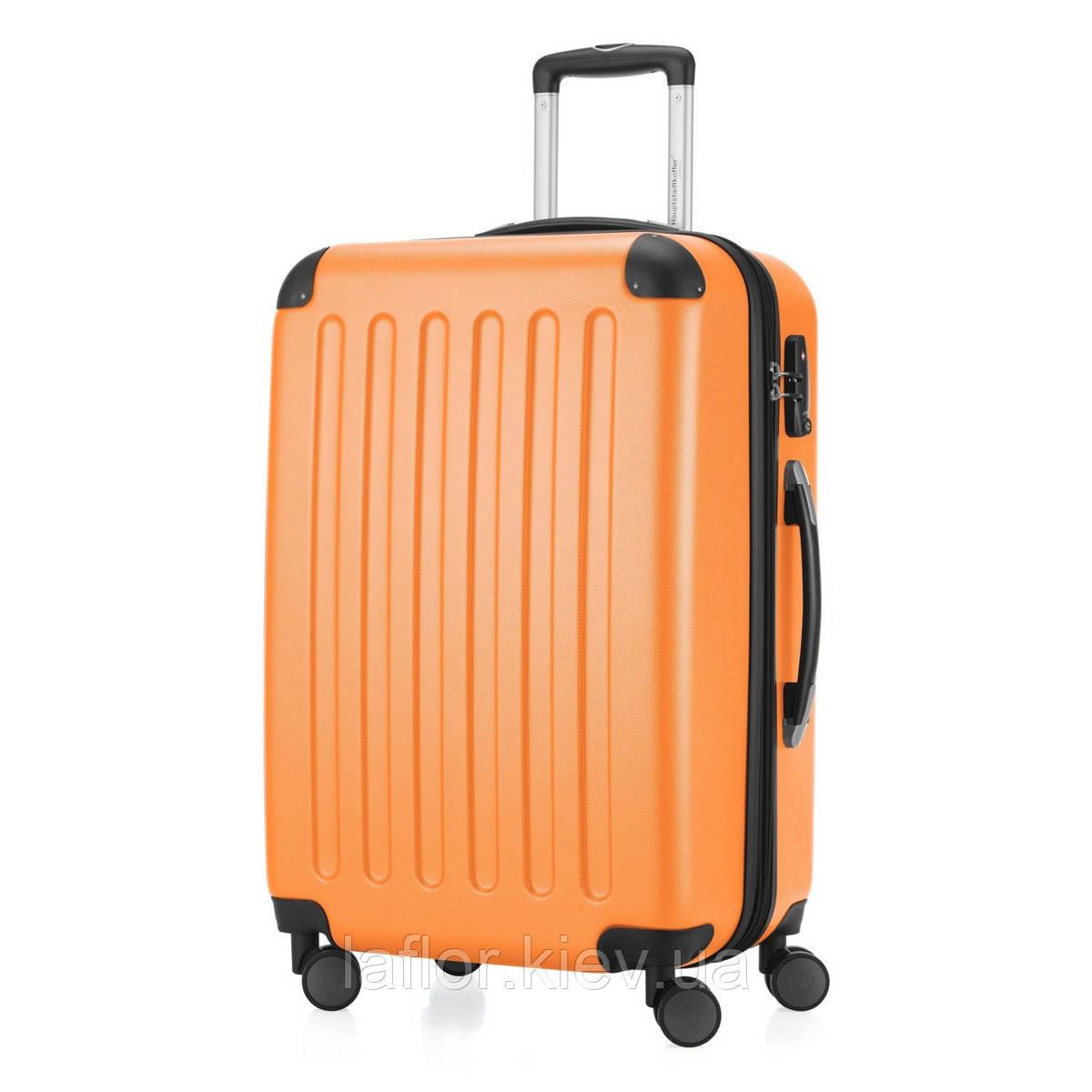 Дорожні валізи на колесах Hauptstadtkoffer Spree Midi помаранчевий