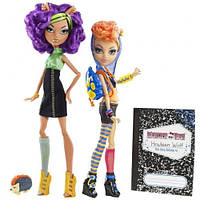 Набор кукол Монстер Хай Monster High Wolf sisters Clawdeen and Howleen Wolf , Клодин и Хоулин Вульф.