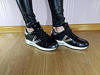 Кроссовки сникерсы Venus Tall Black 6, фото 1