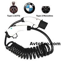Зарядный кабель для BMW i3 Type1 (J1772) - Type 2 (32A - 3 метра), фото 1